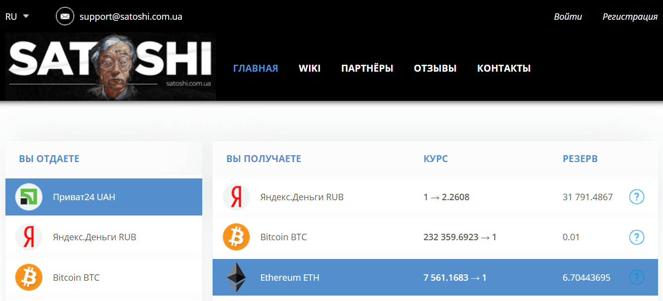 ethereum hryvnia exchange privat